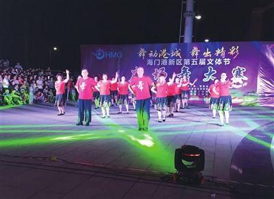 南通海门港广场舞健身点村居全覆盖