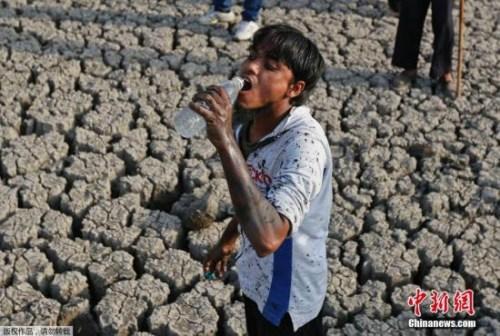 印度高温缺水