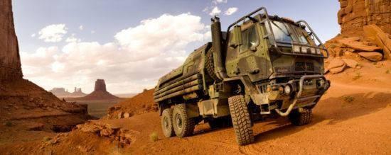 美国Oshkash防务公司生产的一款军用战术车