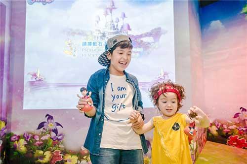 """童星Jackson与陈思成high翻""""杜莎学堂"""""""