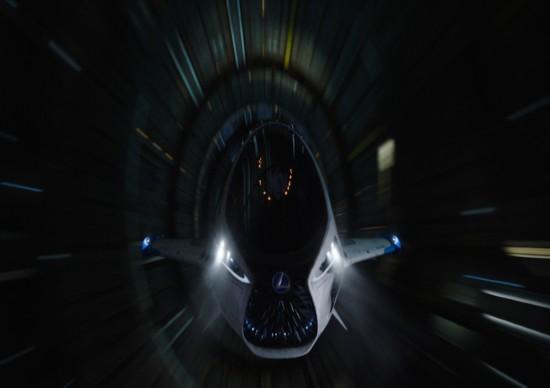 雷克萨斯飞船将亮相银屏 展望未来交通