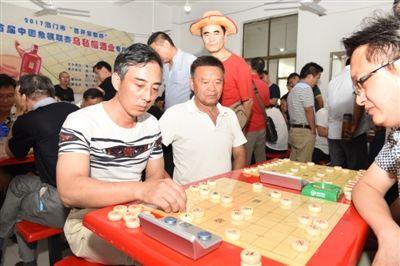 南通海门举办2017年象棋联赛 8支队伍参赛