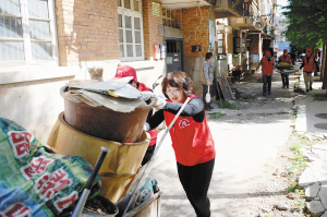 昆明志愿者用心构筑文明家园