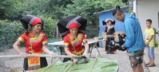 中央电视台第七频道《乡土》栏目摄制组到江州区采访拍摄