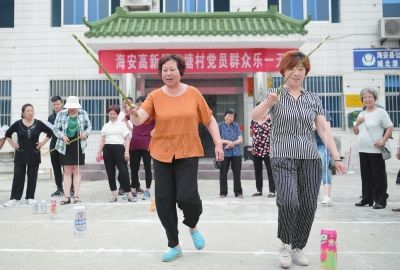 南通海安推进村(居)综合文化服务平台建设