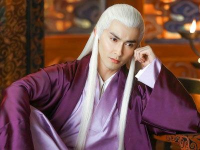 峰高伟光 盘点古装剧中的白发美男子