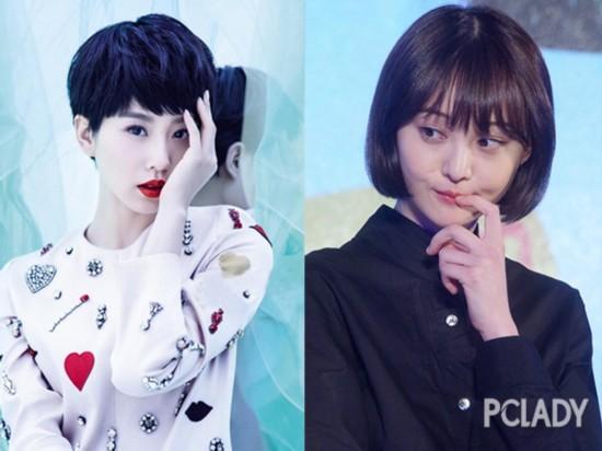 郑爽刘诗诗扎堆剪发 女星可攻可受谁才是短发届一姐
