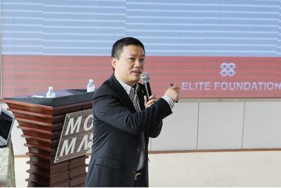 精瑞人居发展基金会秘书长 陈江根