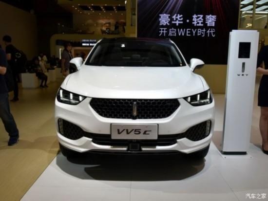 长城汽车 WEY VV5 2017款 VV5 C