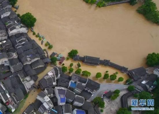 橘子洲、年嘉湖都被淹 湖南这50个景区已经关停