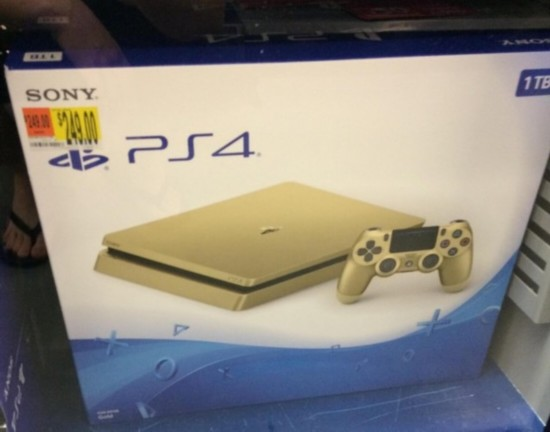 SONY or upcoming golden edition PS4 Slim $249