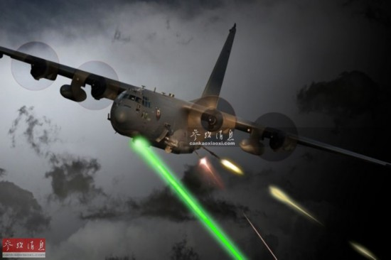 了首次高能激光武器射击试验,这是历史上首次从直升机上发射激光炮.