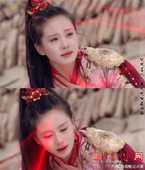 热巴赵丽颖刘诗诗 穿古装的女明星你喜欢哪个
