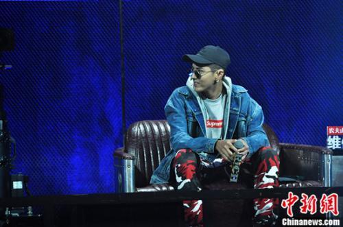 吴亦凡在《中国有嘻哈》节目