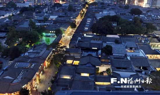 """福州大力投入文保工作 历史文化街区""""活""""起来"""