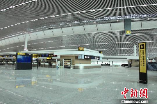 重庆江北机场T3航站楼预计7月底投用
