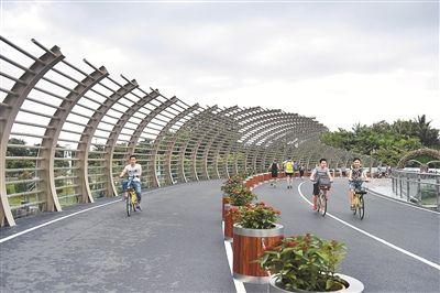 深圳湾滨海休闲带西段全面开放 6.6公里海岸线