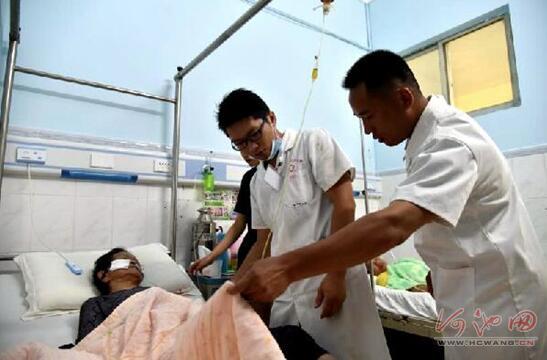 """宜州洛东127名贫困村民患病住院享""""零支付"""""""