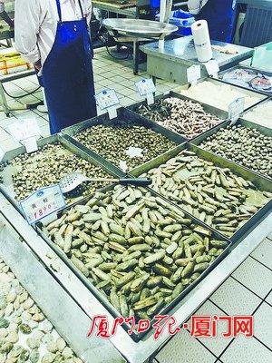 无毒赤潮出现 厦门贝类交易未受影响