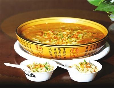 七里海排骨面:吃的宁河天津特色广东烤河蟹图片