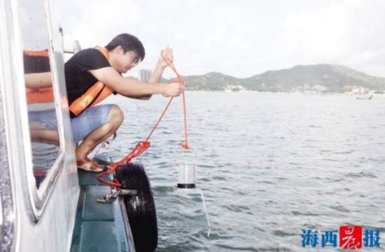 直击厦门海域无毒赤潮 结果显示赤潮情况逐步改善