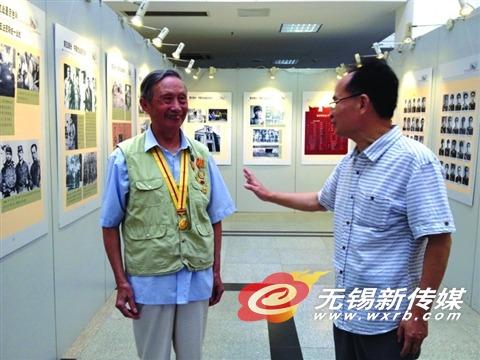 《新四军在江苏》展开幕 集中披露抗战老照片
