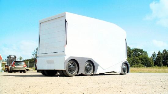 瑞典推出自动驾驶电动货车 无驾驶室设计