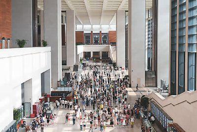 2017年书法比赛我国博物馆业再创佳绩参观量高居全球第一
