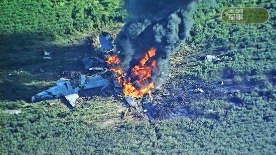 美军KC130加油机坠毁 已发现8具尸体