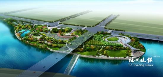福州福清150亩市民休闲公园开建 图书馆新馆建成开放