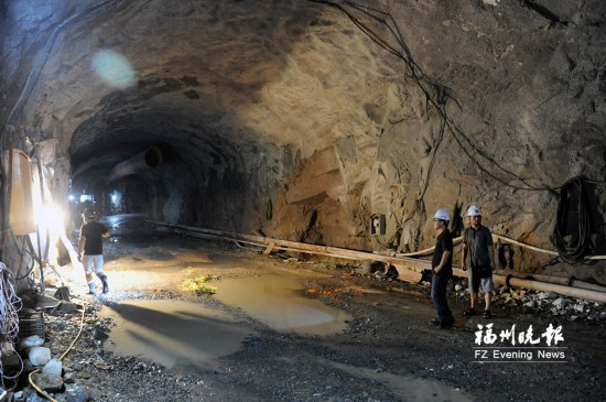 """福州城区最大水利工程""""高水高排""""百米""""主动脉""""成形"""