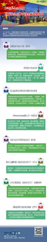 【砥砺奋进的五年】国际社会点赞中国全面深化改革