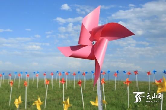 幼儿风车折纸步骤图解