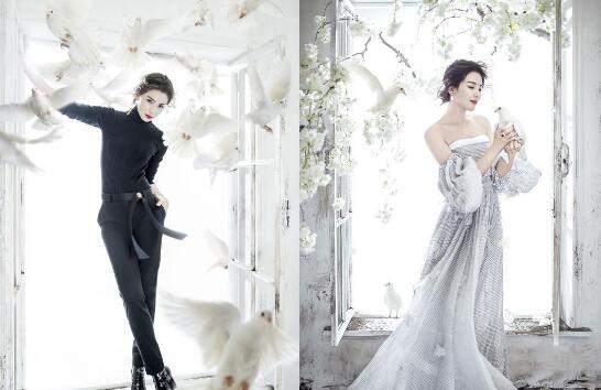 刘涛登杂志双封面 一黑一白对比强烈完美驾驭魅不可挡