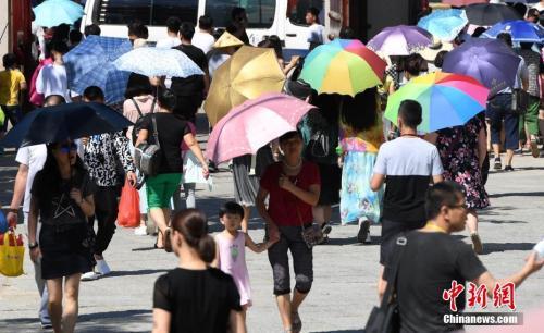 """多地现""""史上最热一天""""最强高温今将迎最强时段"""