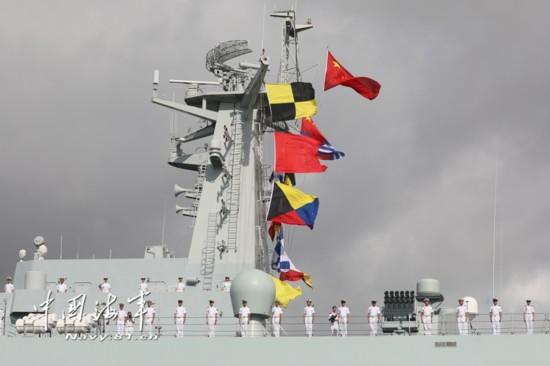 高清:中国人民解放军驻吉布提保障基地成立暨部队出征仪式在湛江举行【4】