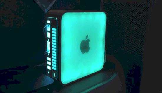 一位疯狂改造苹果的牛人 专挑苹果破烂