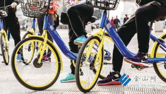 共享单车登陆镇江三个月 快车司机等纷纷叫苦