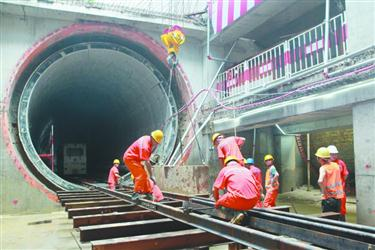 沈阳市地下综合管廊南运河段建设正加速推进