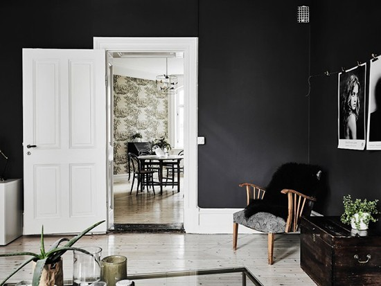 57平米黑白设计 小空间创造的大不同