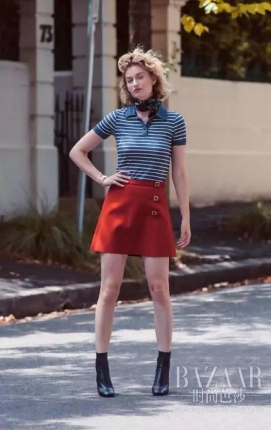 高考后还想继续穿Polo衫?那就这样穿才能有女人味!