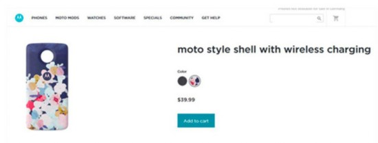 Moto Z新推无线充电模块 这下不用换新
