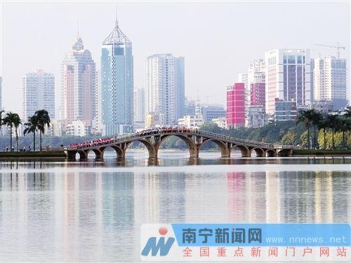 """南宁推进海绵城市建设获成效 """"绿城""""家园更宜居"""