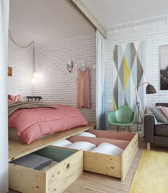 卧室收纳12招 教你空间利用最大化!