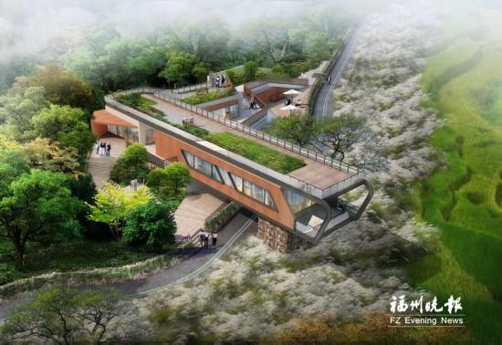 闽侯福州将建青口千家山生态公园规划建设六绘制总平面图的原则图片