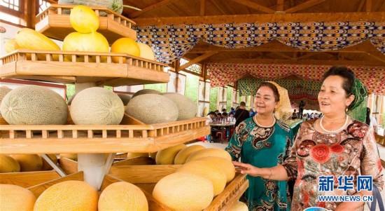 新疆哈密瓜节开幕