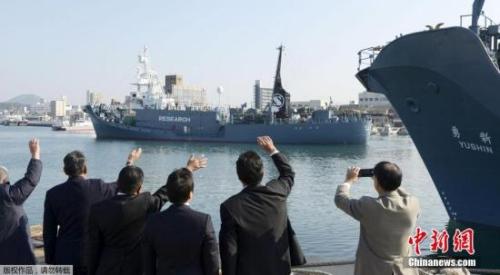 资料图:日本捕鲸船