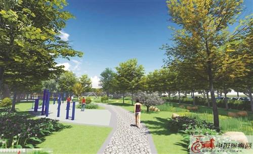 徐州梨园路公园十一前开放 运用海绵城市理念