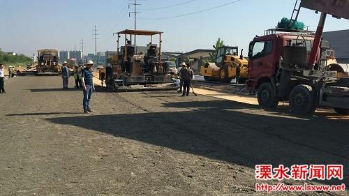 南京溧水区长督查在建项目:严把工程质量关
