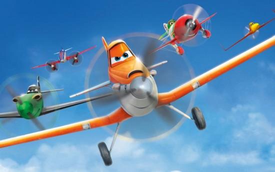 迪斯尼动画《飞机总动员》宣传海报,本片主角dusty的原型就是at-802